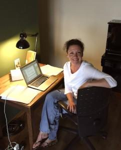 Britta Boerdner Sylt Schreibtisch